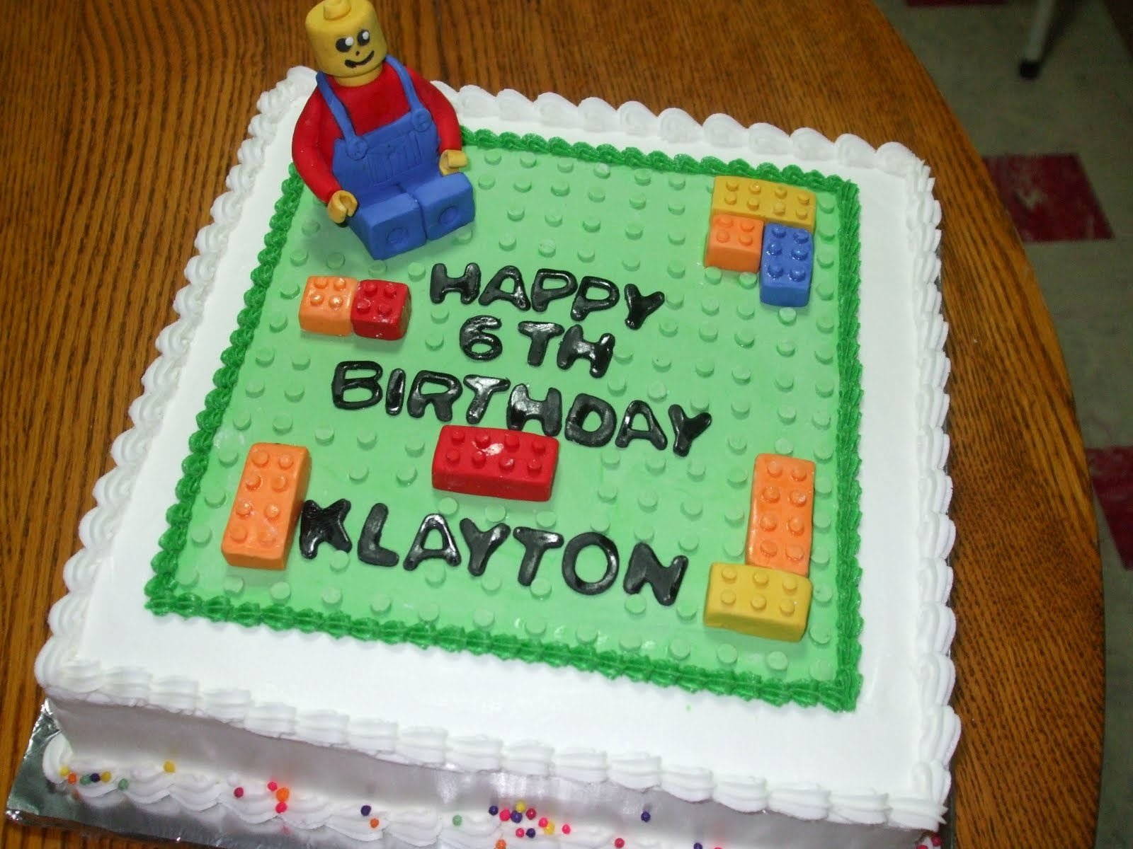 Birthday Cake Ideas Lego : Cakes by Paula: Lego Birthday Party