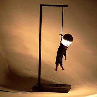 Lampu Meja Unik dan Kreatif
