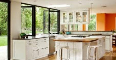 contoh desain jendela dapur miimalis sederhana gambar