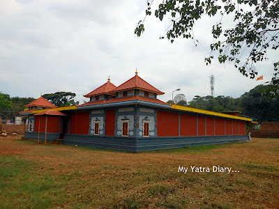 Overview of Shree Krishna temple in Kannur, Kerala