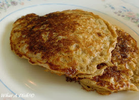 Oatmeal Ginger Buttermilk Pancakes