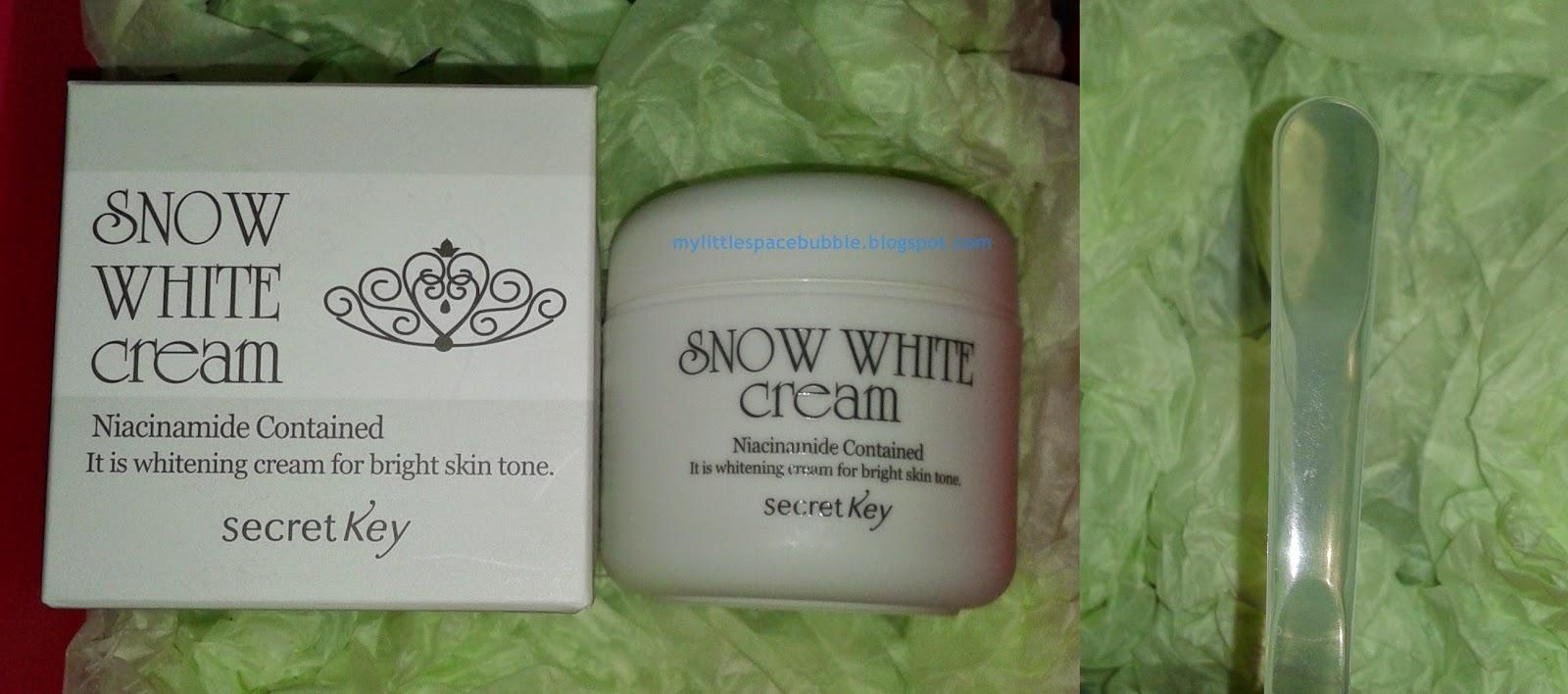 My Little Space Bubble Memebox Secret Key Value Set Season 2 Unboxing Treatment Cream 50gr Snow White 50g