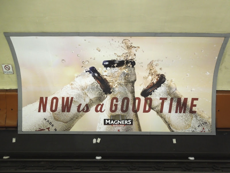 Magners Now is a good time tube ad