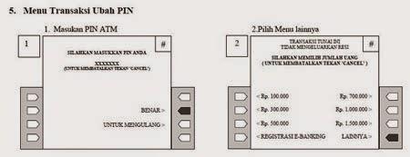 Cara Ganti PIN ATM Bank Bukopin
