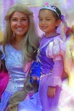 A Princess Rapunzel Birthday Party