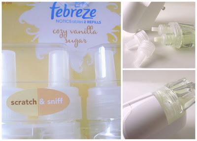 Cozy Vanilla Sugar plug in scent, Holiday Home Scents