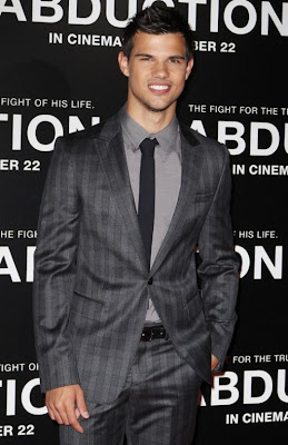 Taylor Lautner Abduction Premiere