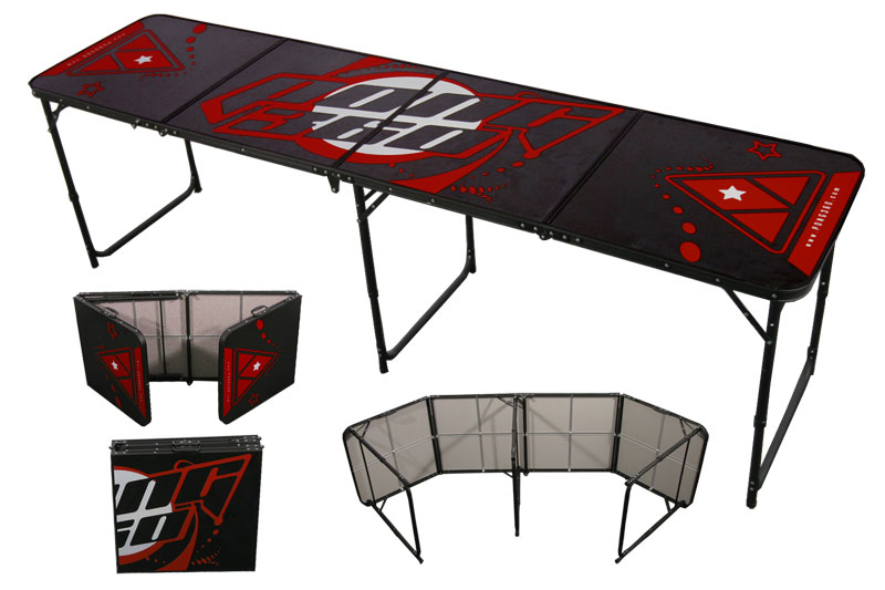 Awesome cheap beer pong table different types of beer for Different types of tables in html