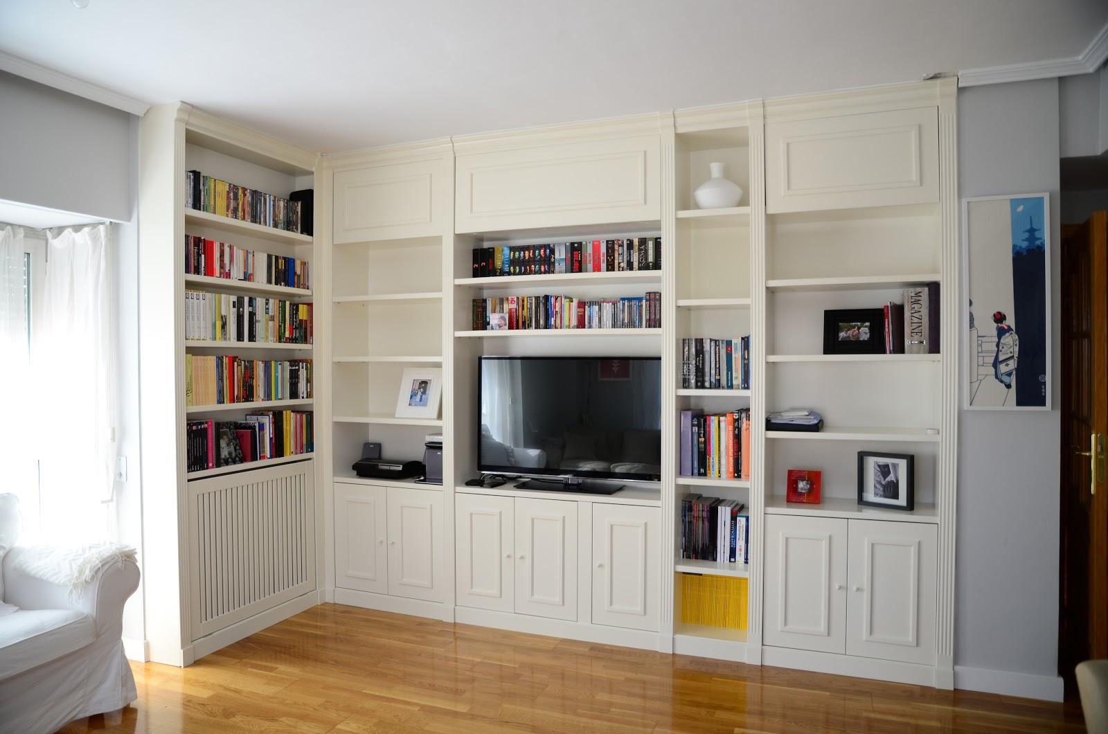 Librerias a medida madrid muebles librerias lacadas de - Muebles a medida en madrid ...