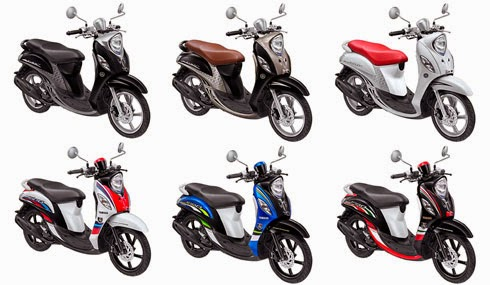 kelir cerah Yamaha Fino 2015