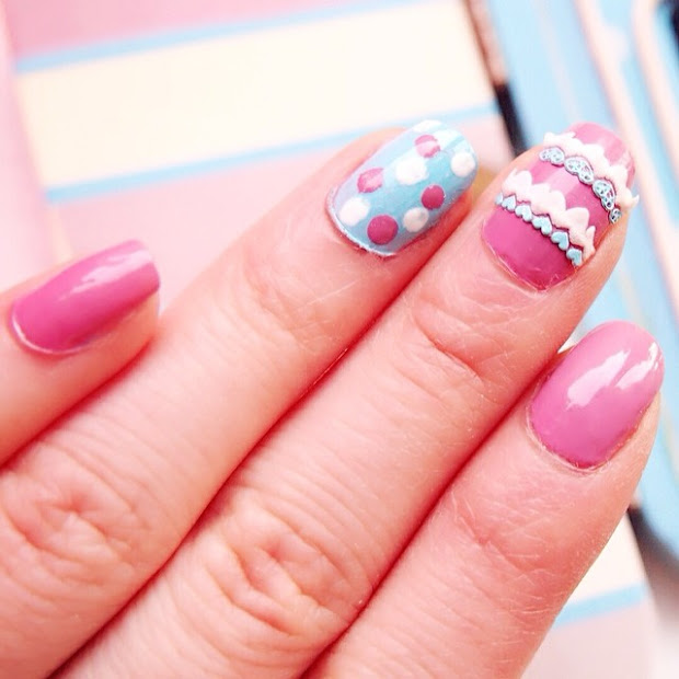 happy easter nail art - ting