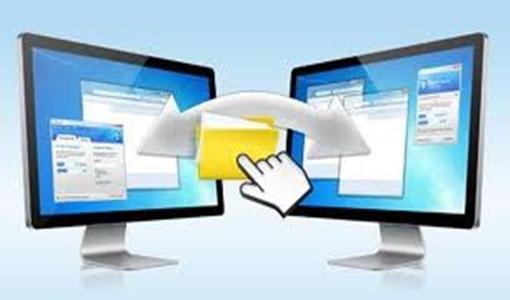 Como transferir arquivos de um PC para o outro