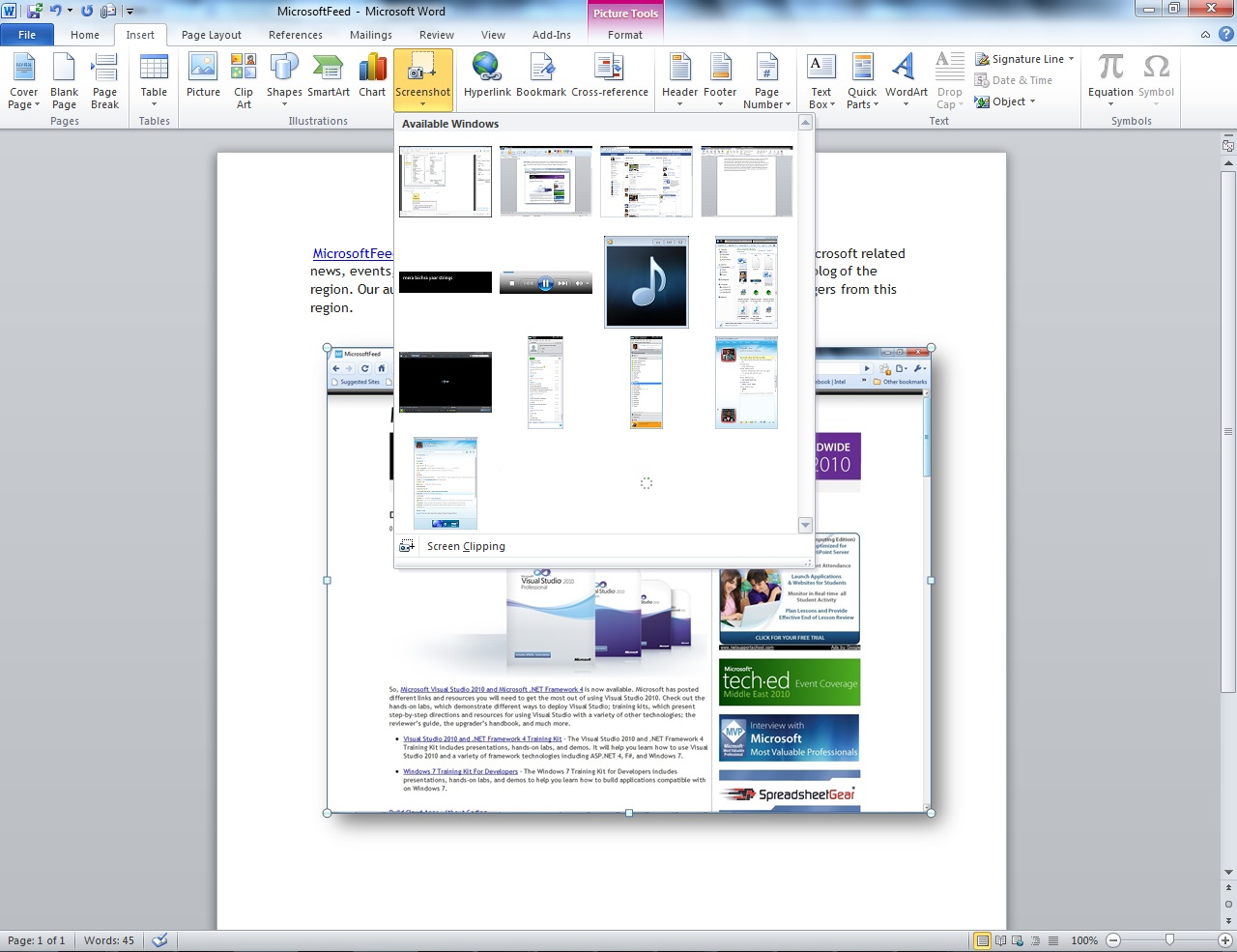 Edit Template Word010 Microsoft Word 2010