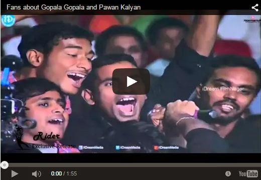 Fans about Gopala Gopala and Pawan Kalyan