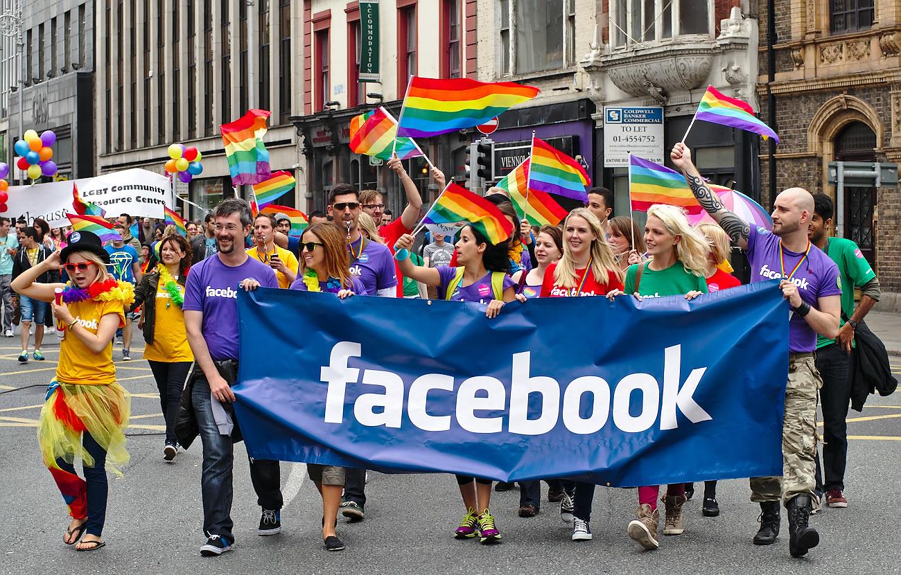 Facebook assina carta de compromisso com 10 ações em favor dos direitos LGBT