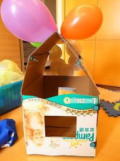 美度扣DIY玩具小房子
