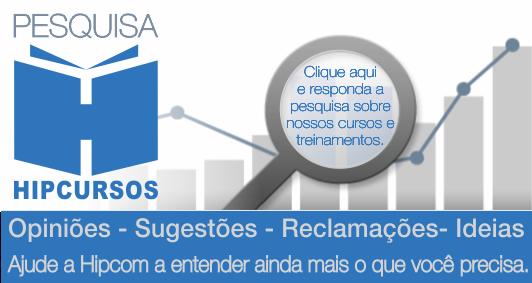 Responda a Pesquisa - HIPCURSOS