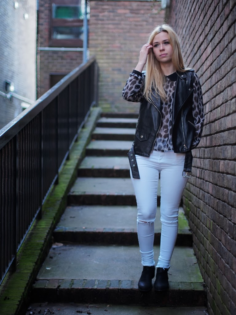 biker chic outfit