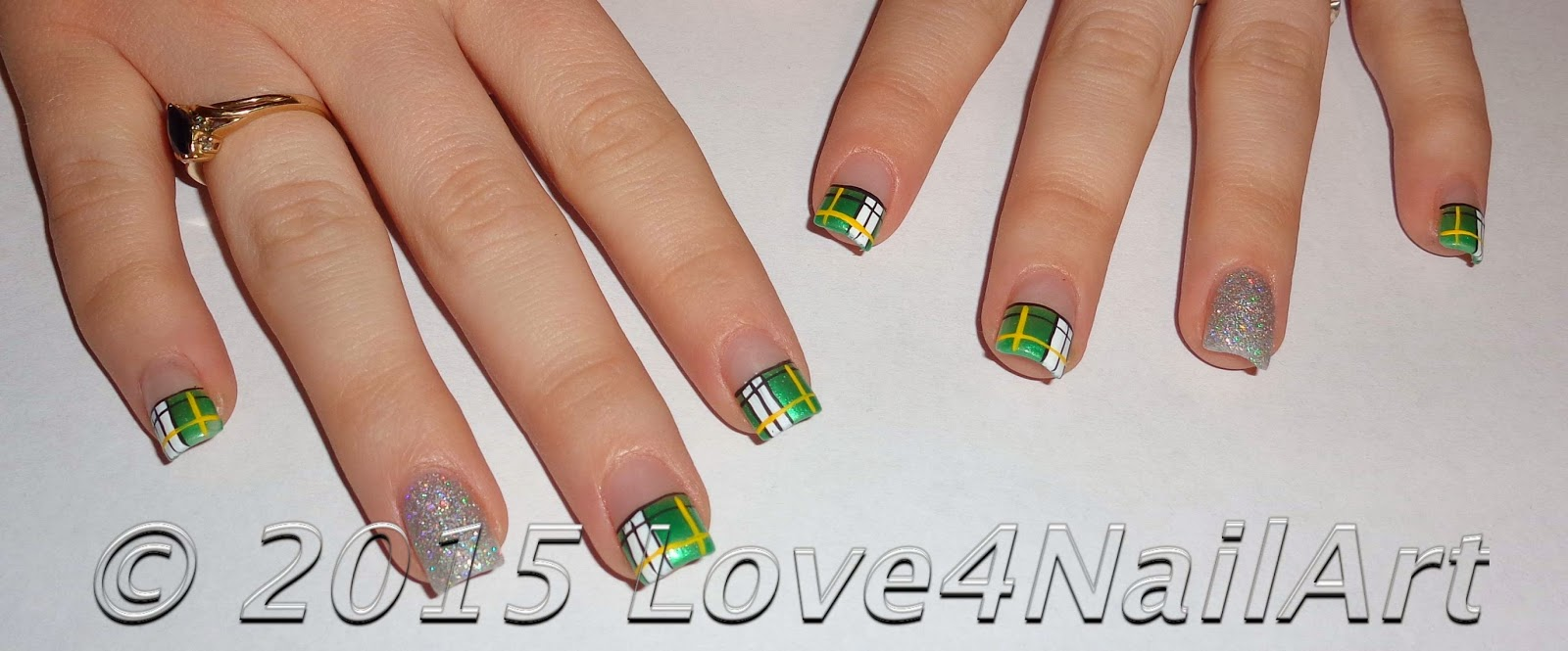 Acrylic Nail Designs Green Bay Packers: Packers neon yellow nails ...