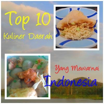 Top 10 Kuliner Daerah yang Mewarnai Indonesia