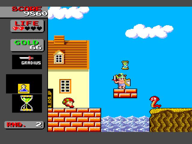 Bikkuriman World / Wonder Boy in Monster Land - PC Engine - 1987