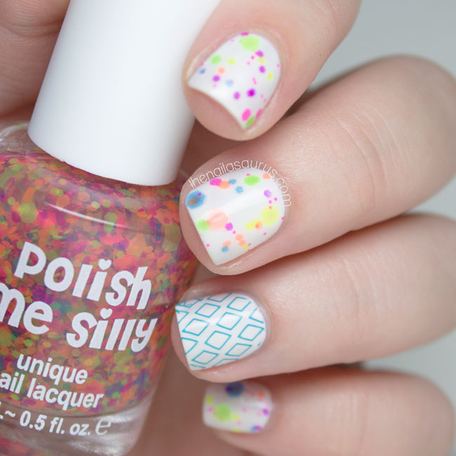 Polish Me Silly Clowning Around Swatch