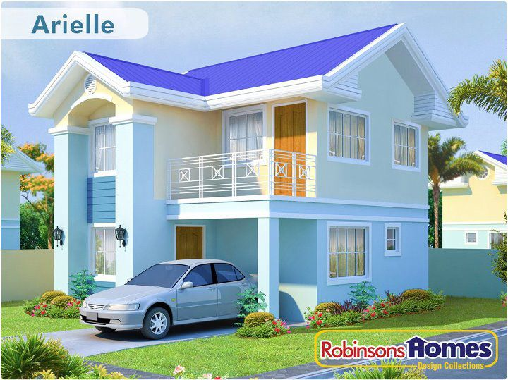 Robinson Homes - Antipolo: Arielle House Model at St. Judith- Antipolo