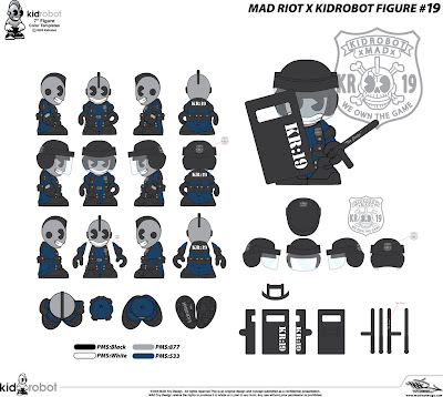 Kidrobot 19: KidRiot Vinyl Figure Concept Artwork by MAD