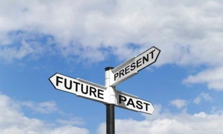 6 Lessons from 30 Years of Marriage  - street road signs present future past