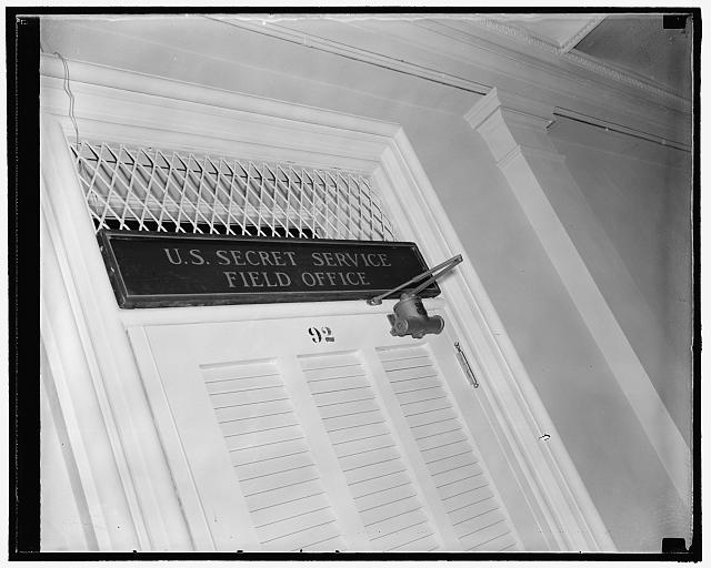 Field Office of the Secret Service, 10/38