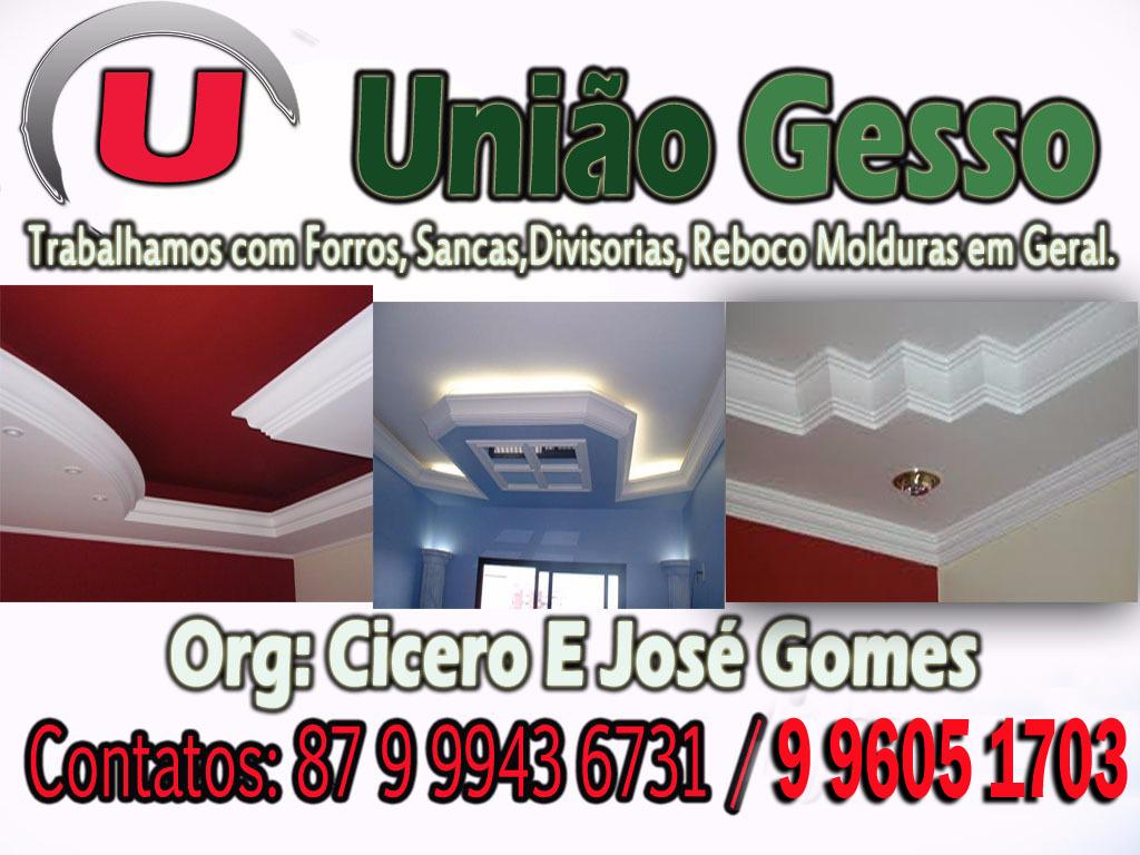 UNIÃO GESSO