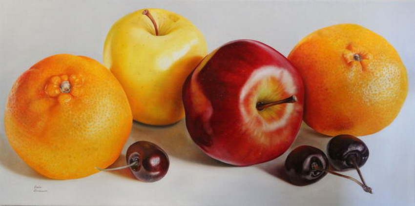 Im genes arte pinturas galer a bodegones con frutas - Fotos de bodegones de frutas ...