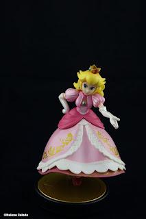 Fotografia de um produto - Amiibo Peach