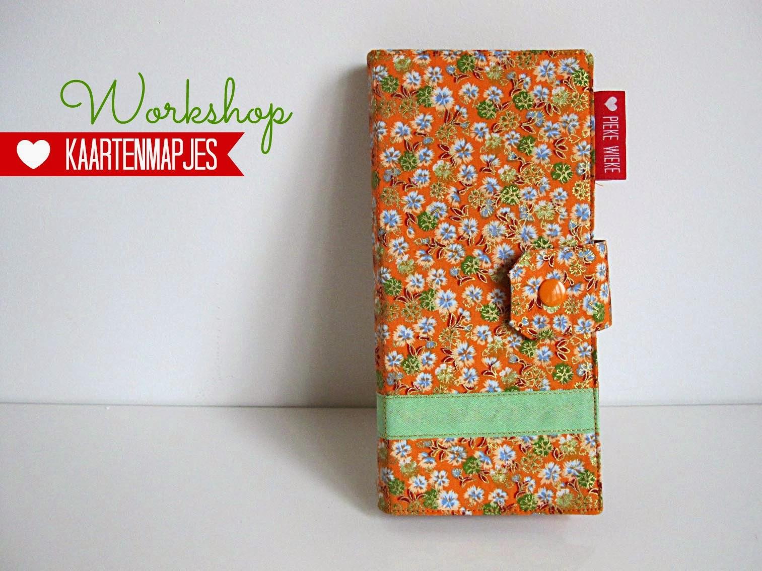 Workshop in Antwerpen: Mapje voor klantenkaarten