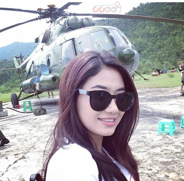 Instagram : Thinzar Wint Kyaw Collection Photos in August