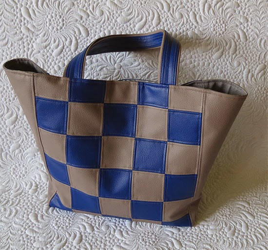 faux leather tote bags