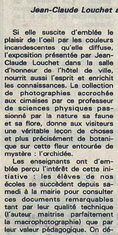 EXTRAIT DE L'ARTICLE PRECEDENT