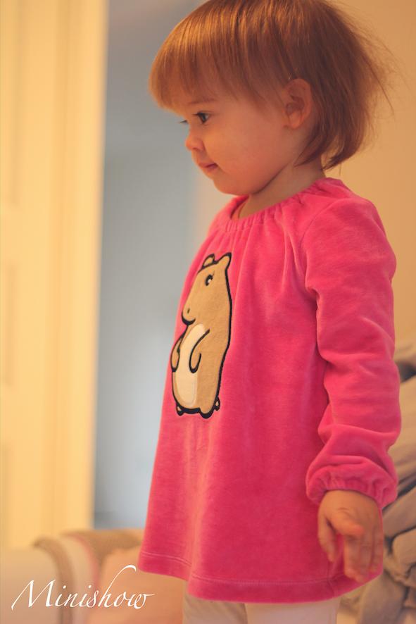 ... pinkki paita ja suloinen vaaleanpunainen jumpsuit. Jumpsuitin meinasin  jo tilata aed7aacbff