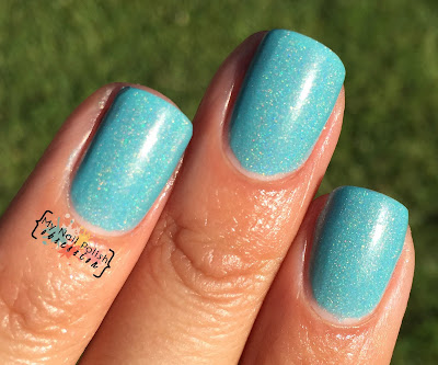 Addicted To Holos Indie Box, Blue Eyed Girl Lacquer Sepulcher By The Sea