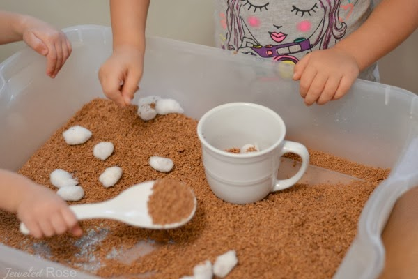 Hot Chocolate Winter Play for Kids