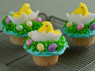Easter Cupcakes Decorations