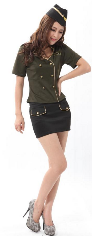 female military officer uniform cosplay female military officer ...