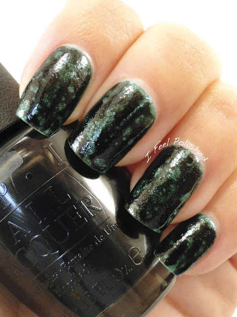 OPI Black Spotted