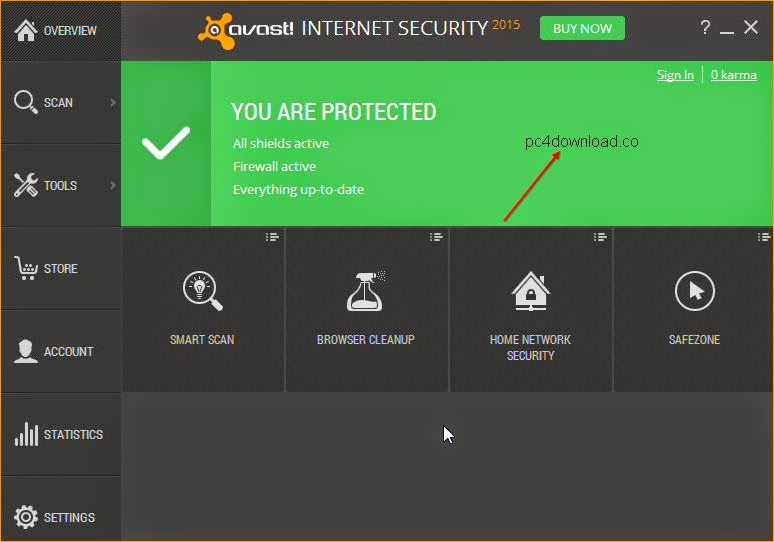 Free Avast Internet Security 2015 10.2.2213 With License Key