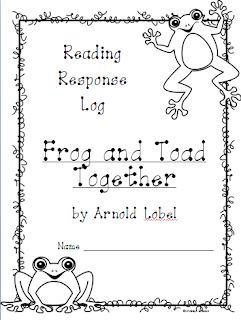 http://www.teacherspayteachers.com/Product/Frog-and-Toad-Together-Reading-Response-Log-1017874