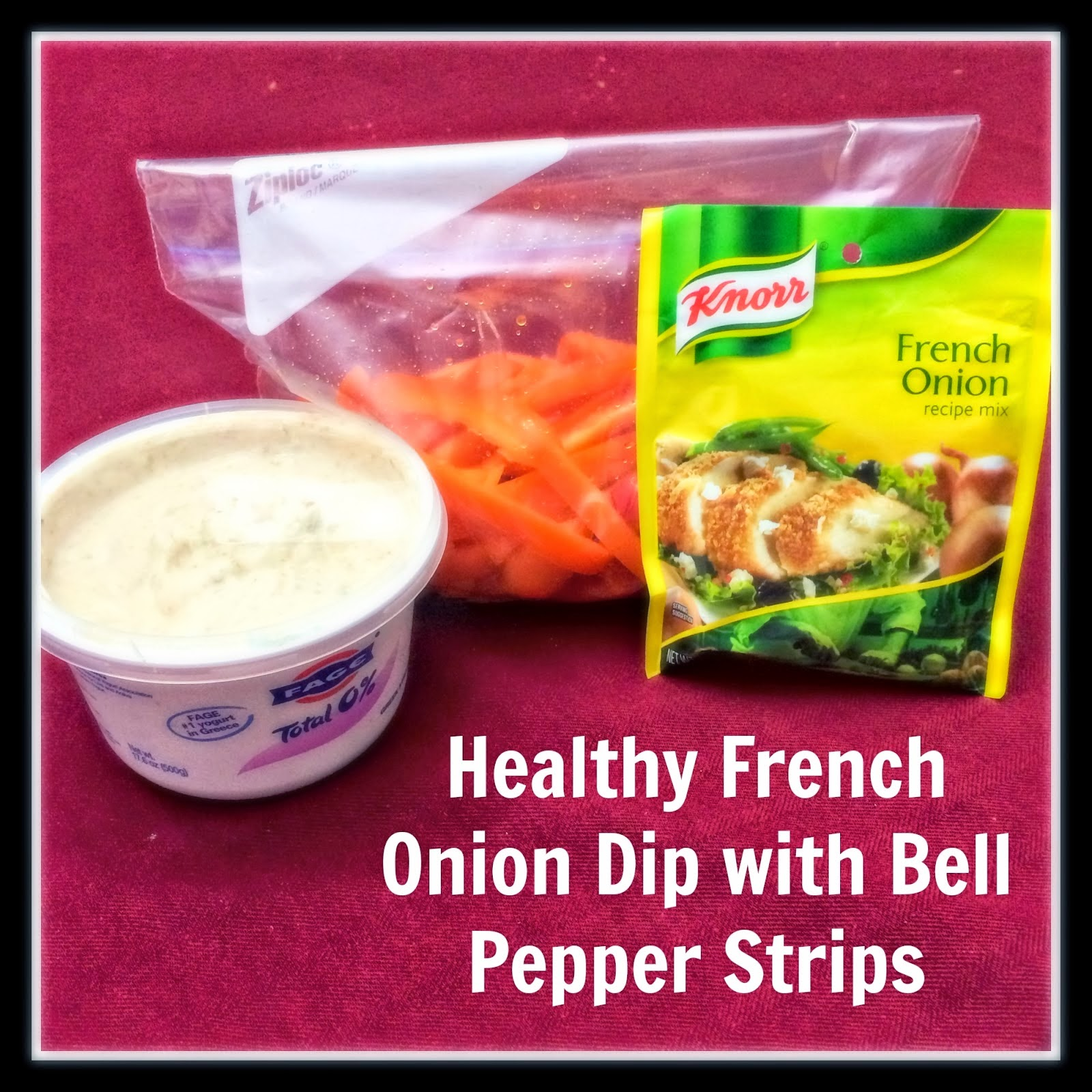 healthy french onion dip recipe