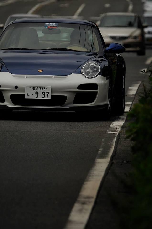 憧れの造形美997後期GT3のシルエット