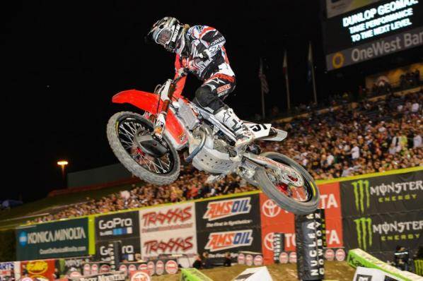 Barcia put in a good ride for a podium spot.