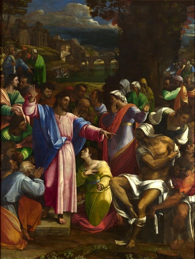 Sebastiano del Piombo - The Raising of Lazarus