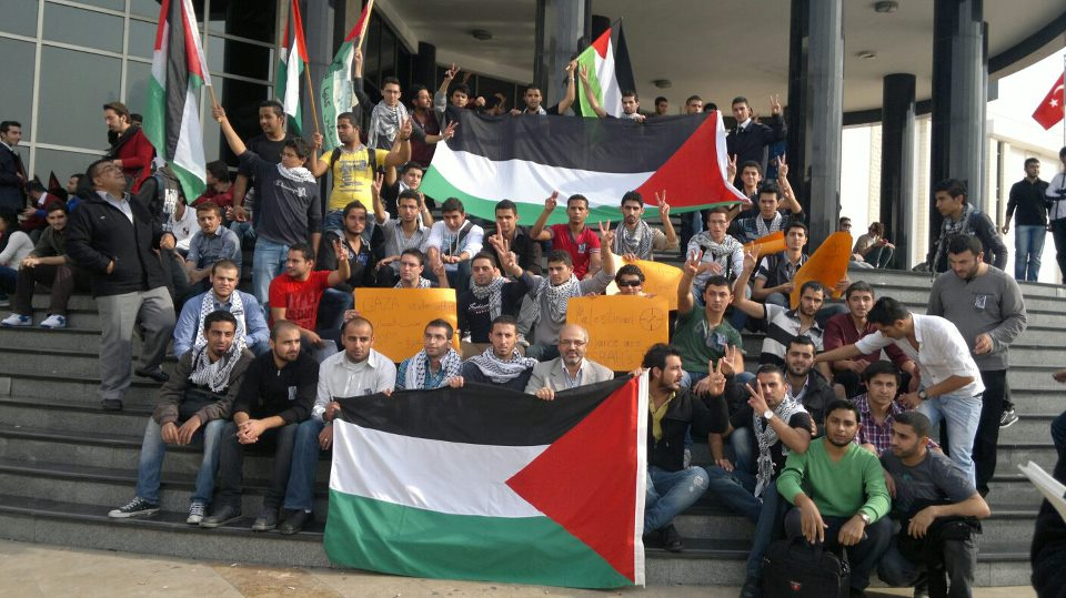 Berita foto: ratusan aksi menentang agresi israel berlangsung di 5